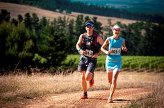 Landie and Christiaan Greyling (Salomon Mixed) claimed victory in the mixed team category,