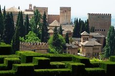 <b>The Alhambra and the Generalife, Granada, Spain</b>