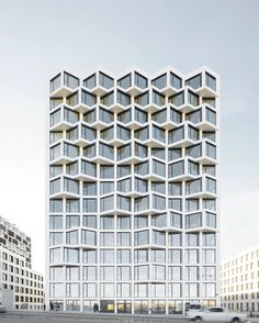 "Architecture & Design on Instagram: ""Sharing Friends Building by Allmann Sattler Wappner. via my friend: . . . . . #lightanddark #revestimento #architectural #towers…"""