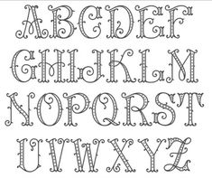 62 ideas for art deco font alphabet monograms Tattoo Lettering Fonts, Hand Lettering Alphabet, Doodle Lettering, Creative Lettering, Monogram Alphabet, Lettering Styles, Monogram Fonts, Cool Fonts Alphabet, Free Monogram