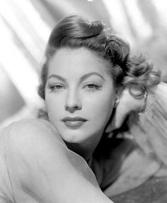 ava gardner.she was the one who started me on my love for classic movie stars