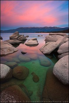 Emerald Water Beautiful Sky - Lake Tahoe