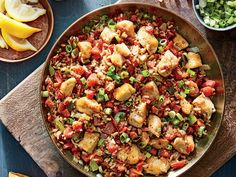 One-pan dinners are perfect for busy weeknights. This Jambalaya recipe is loaded…