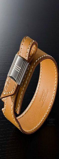 Hermes ✤ Leather Bangle | House of Beccaria~