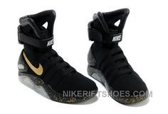 Nike Air Mag Back To The Future Limited Edition Shoes Black Gold New  Release PbjkzC 33b9d7a1a