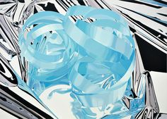Ribbon oil on canvas 102 x 143 inches x cm © Jeff Koons / 2010 Jeff Koons, Art Rules, Painter Artist, Balloon Animals, Popular Culture, American Artists, Textures Patterns, Abstract Expressionism, In This World