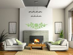 Hungarian Kalocsa Folk Flower Wall Vinyl decal.