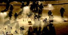 Clément Cogitore - Tahrir - 2012 - Vidéo - Couleur - 8 min boucle - Collection FMAC, Fonds municipal d'art contemporain de la ville de Paris