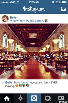 disney instagram | Belle : J'ai trouvé le paradis et ne le quitterai JAMAIS !