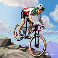 "786a2c34c3 Sylvrstar illustration on Instagram  ""Finished!  ninoschurter  illustration   mtb  mountainbike  crosscountry  scottbikes  cornercard  skoda  vaudoise  ..."