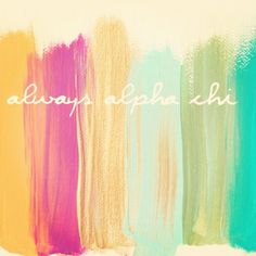 Love the colors and the artsy paint strokes. always sigma alpha (: