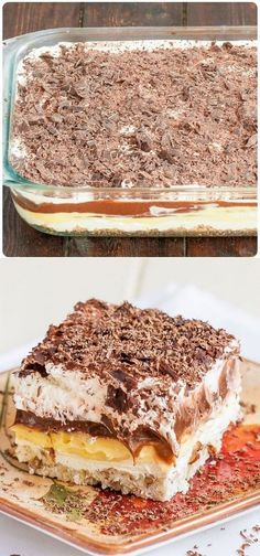 Sex in a Pan - crazy name for a dessert, but it's one of the best desserts you's mostly a pudding dessert with a crunchy pecan bottom crust. Layered Desserts, Easy Desserts, Winter Desserts, Christmas Dessert Recipes, Baking Recipes, Cake Recipes, Sweet Recipes, Instant Recipes, Cupcake Cakes