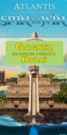 Gagnez un voyage pour 8 personnes à Dubaï. Fin le 30 avril.  http://rienquedugratuit.ca/concours/voyage-pour-8-a-dubai/