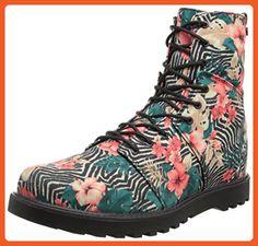 Volcom Women's Go Figure Combat Boot, Black Print, 7 M US - Boots for women (*Amazon Partner-Link)