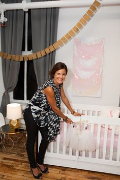 City chic for girls. #nursery trends