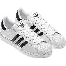 adidas superstar zwart met witte strepen