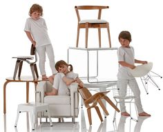 little nest 3 Perfect chairs for kids from Little Nest