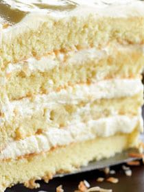 Easy and Moist Southern Coconut Cake Recipe with Coconut Milk by Bobby Flay – Southern Foods Recipes - Cake Recipes Nutella Ideen 3 Day Coconut Cake Recipe, Old Fashioned Coconut Cake Recipe, Coconut Cake From Scratch, Southern Coconut Cake Recipe, Coconut Cake Easy, Coconut Milk Recipes, Coconut Desserts, Cake Recipes From Scratch, Easy Cake Recipes