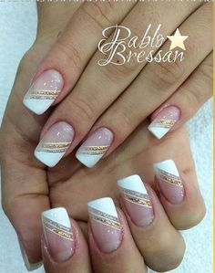 deep french nails Side Braids #frenchtipnaildesigns | Fun ...