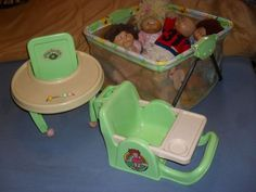 We had that play pen