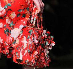 London Fashion Week Spring 2015 Fashion Accessories: Simone Rocha Handbags  #bags #fashionweek #handbags