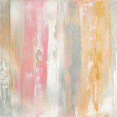 Found it at Wayfair - 'Once Upon a Time Pink Silver and Gold Abstract' by Glam Gold Painting Print on Wrapped Canvas ART you can buy directly from us! Available in framed, canvas, posters, and prints! At prices that won't break the bank. www.buyart4less.com #buyartforless