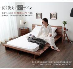 【楽天市場】ベッド ベッドフレーム ロータイプ すのこベッド マットレス対応 ダブル モダン ダブルベッド フレーム:LESMORE(レスモア)