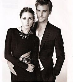 olivia palermo and her boyfriend (i like her style though)