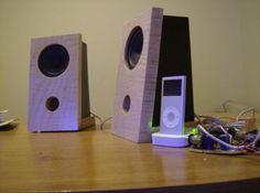 Shelf speakers w/ipod dock (Part I - speaker boxes)