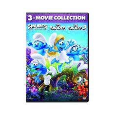 The Smurfs / The Smurfs 2 / Smurfs: Lost Village (Dvd)