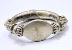 vintage antique ethnic tribal old silver solid by TRIBALEXPORT, $785.00