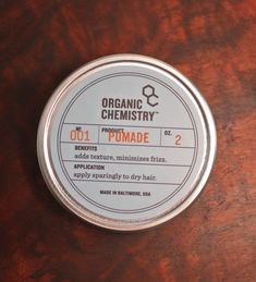 Organic Chemistry, organic skin and hair products
