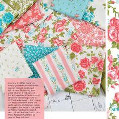 Pocketful of Posies precuts by Chloe's Closet for Moda