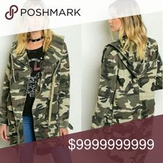 Amazing camouflage jacket An absolute must have. Excellent quality. Limited supply. Get yours before they are gone. 100 % Cotton Jackets & Coats