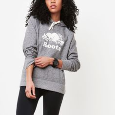 Shop Roots Online For Our Lifestyle Collection Of Womens Sweatshirts And Hoodies Featuring Our Exclusive Roots Salt And Pepper Original Kanga Hoody Roots Clothing, Clothing Staples, Matching Outfits, Things To Buy, Minimalist Fashion, Active Wear, Graphic Sweatshirt, Style Inspiration, Pullover