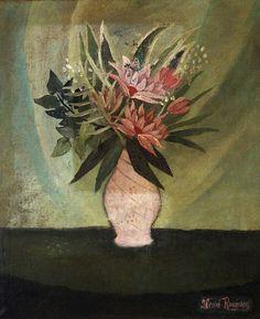 Henri Rousseau Vase of Flowers