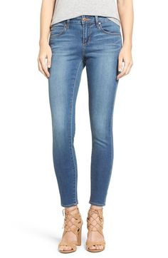 Free shipping and returns on Articles of Society 'Mya' Skinny Jeans (Cedar) at Nordstrom.com. Bold whiskering and subtle sanding add lived-in depth to wardobe-staple skinny jeans woven with a bit of stretch for a comfortable fit.