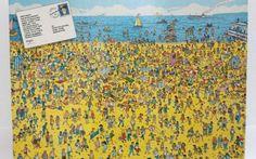 Dov'è Waldo fu vietato inizialmente, sapete perchè? Sono sicuro che tutti, almeno una volta, si siano ritrovati a cercare il simpatico Wally o, meglio, ad impazzire ed imprecare cercando di trovare quelle fatidica maglia a strisce bianche e rosse ahah #waldo #wally #bambini #libri