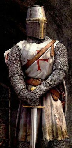Knight Templar, 13th century