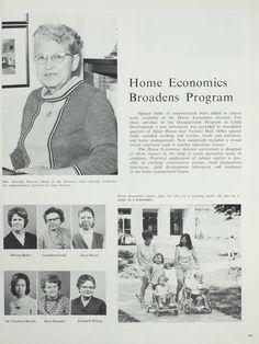 Northeast Missouri State College | The 1970 Echo | Home Economics Program…