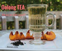 NEW Peach Oolong Tea. Only at aateaz.com