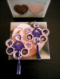 Pendientes en crochet https://www.facebook.com/photo.php?fbid=535152623229811&set=a.341691772575898.74197.200554666689610&type=3&theater