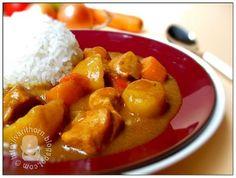 kare raisu (Japanese curry)