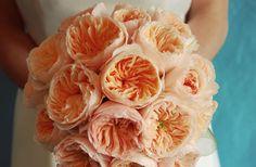 Lovely peach bouquet.