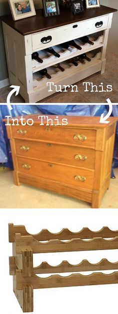 These aren't just makeovers but complete DIY furniture transformations - repurposing and upcycling an old thing to give it a completely new life. -- You can get more details by clicking on the image.