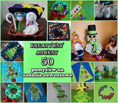 Kreatywny adwent - 50 pomysłów na zadania adwentowe/ Advent crafts and art