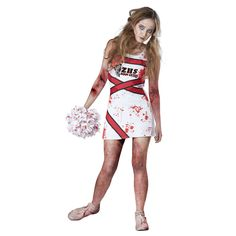 Zombie cheerleader costume ideas zombie cheerleader costume totally ghoul teen zombie cheerleader halloween costume girls solutioingenieria Gallery