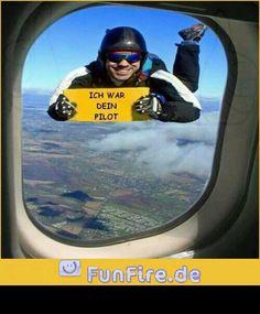 Das bin so ich bei einem Fallschirmsprung :D