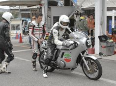 80's cafe Apr.17,2016   #ミニバイク #サーキット #レース #ヒーローしのいサーキット #80's #cafe racer #max10group #カフェレーサー