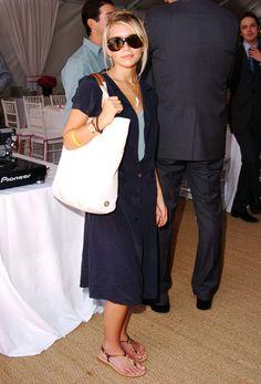 Ashley Olsen, navy